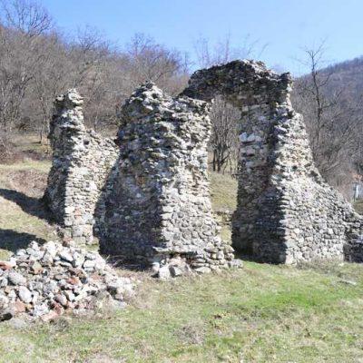 Mănăstirea Vodiţa - ruinele vechiului lăcaş