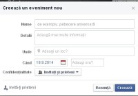 Facebook-Evenimente