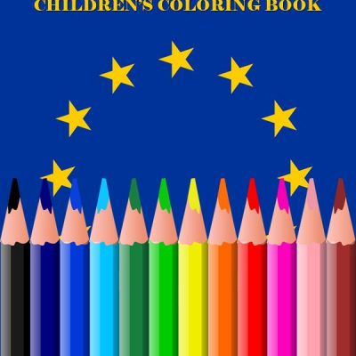 European Union Flags – Children's Coloring Book