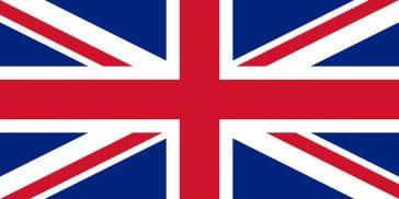Flag of the United Kingdom - English language symbol