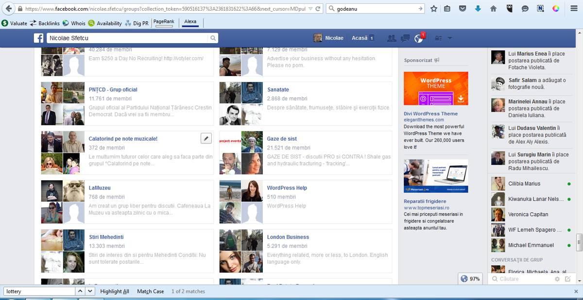 Facebook-Grupuri