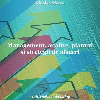 Management, analize, planuri și strategii de afaceri