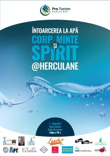 """Băile Herculane: Conferința Națională ,,Întoarcerea la apă - Corp, Minte și Spirit @ Herculane"""""""