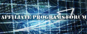 Affiliate Programs Forum