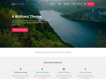 Teme WordPress gratuite: Brilliance