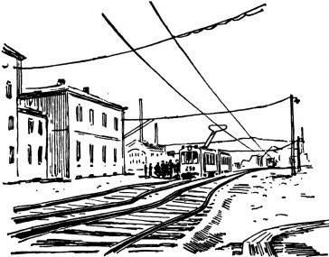 Șinele de tramvai