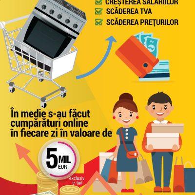 Comerțul electronic în România în 2016