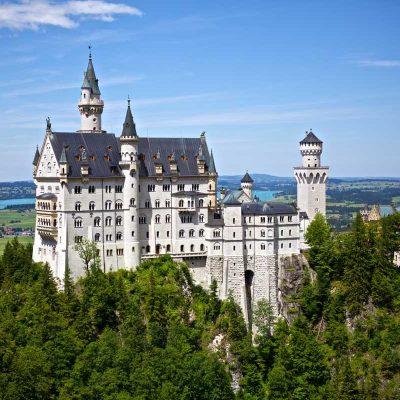 Castel, Neuschwanstein, Germania