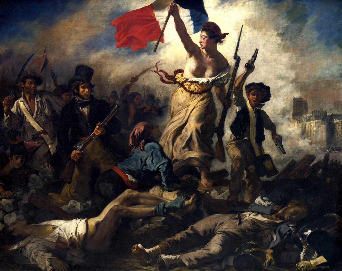 Liberty Leading the People, Delacroix
