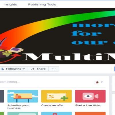 MultiMedia - Pagina Facebook