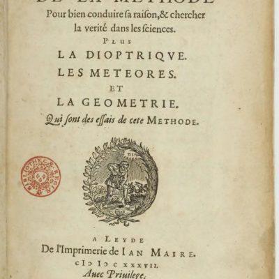 Descartes: Discourse on the Method