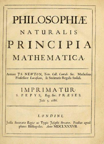 Isaac Newton: Philosophiae Naturalis Principia Mathematica