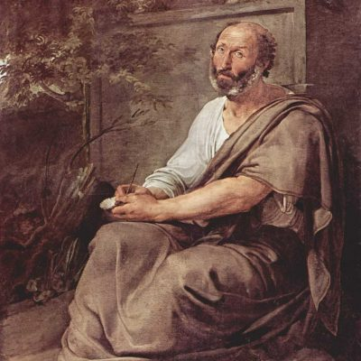 Aristotle, by Francesco Hayez