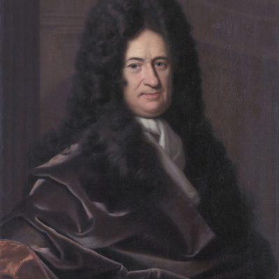 Gottfried Wilhelm Leibniz, portrait by Christoph Bernhard Francke