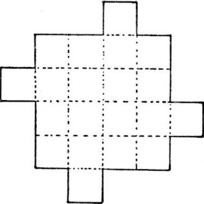 Patru pătrate