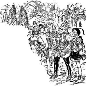 Nătângul și cele trei pene, de Frații Grimm