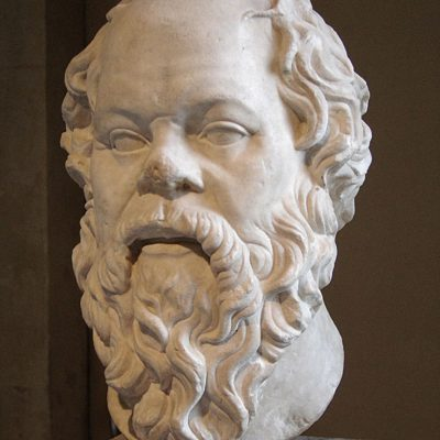 Bust of Socrates in the Louvre