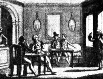 O cafenea italiană din sec. XVIII - După Goldoni, de Zatta