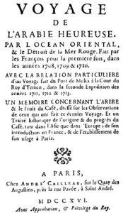 Jean La Roque, Voyage de l'Arabie Heureuse