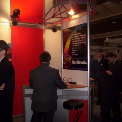 MultiMedia la CeBIT 2005, Hanovra