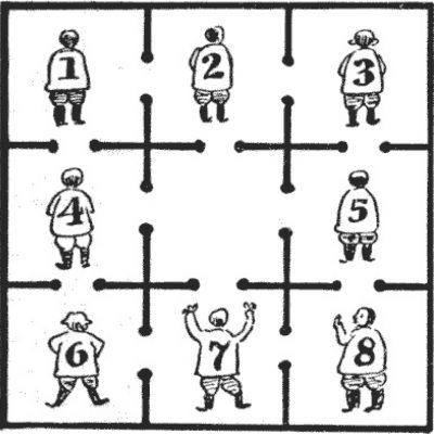 Cei opt deținuți
