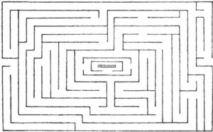 Labirint la Hatfield House, Herts