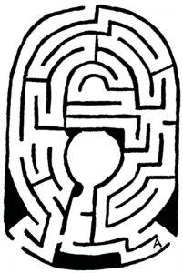 Fostul labirint de la South Kensington