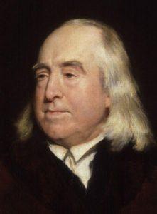 Portrait of Jeremy Bentham, by Henry William Pickersgill