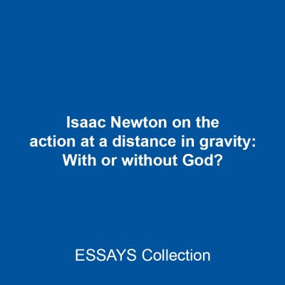 Isaac Newton on the action at a distance in gravity: With or without God?