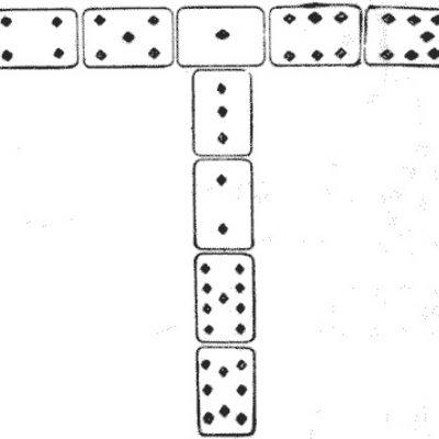 Litera T din cărți de joc
