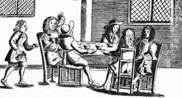 Cafenea în timpul lui Charles al II-lea