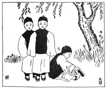 Trois filles qui ont fréquenté une école de garçons