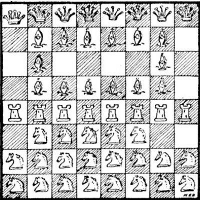Tabla de șah aglomerată