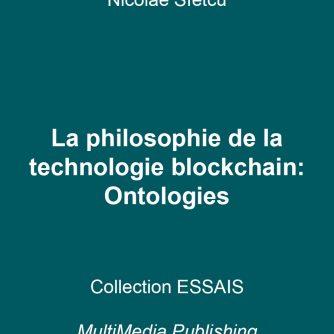 La philosophie de la technologie blockchain - Ontologies