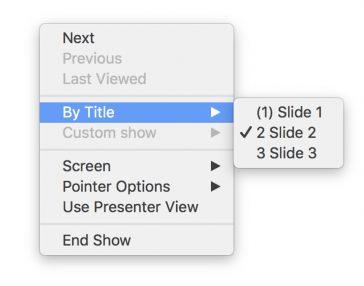 Ascunderea diapozitivelor în PowerPoint