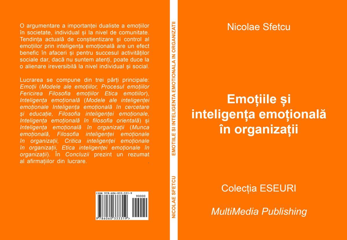 Emoțiile și inteligența emoțională în organizații