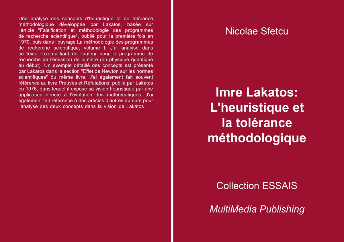 Imre Lakatos: L'heuristique et la tolérance méthodologique