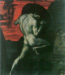 Sisif, de Franz Stuck, Galeria Ritthaler, München, Germania