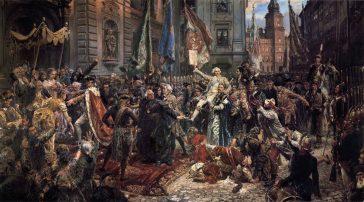 Constituția din 3 mai 1791, de Matejko