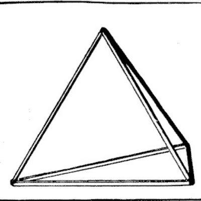 Construirea unui tetraedru
