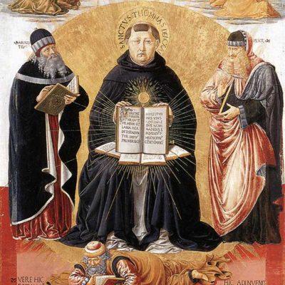 Triumful Sf. Toma Aquino, Benozzo Gozzoli