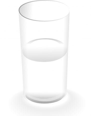 Pahar cu apă