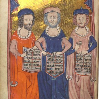 Plato, Seneca and Aristotle