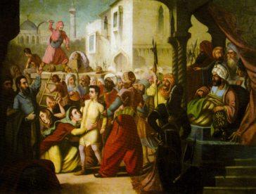 Martiriul brâncovenilor, de Constantin Lecca