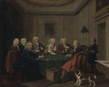 A Club of Gentlemen, de Joseph Highmore
