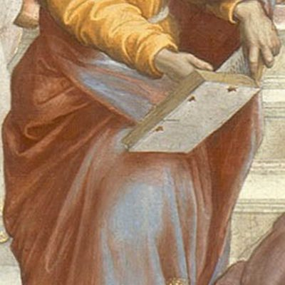 Parmenides, detail from The School of Athens by Raphael