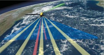 Nava spațială Aura cu Tropospheric Emission Spectrometer (TES)