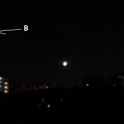 Un fenomen interesant pe cerul Bucureștiului