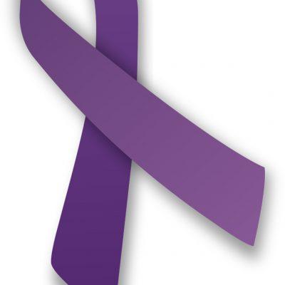 O panglică violet pentru a promova conștientizarea violenței domestice