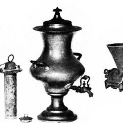 Relicve istorice asociate cu începutuirile cafelei în New England
